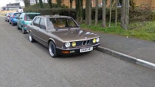 BMW 525i D485MFJ