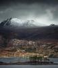 Loch Maree (Scott Robertson (Roksoff)) Tags: bendamph benalligin kinlochewe gairloch liathach slioch lochclair westerross torridon lochmaree beinneighenationalnaturereserve leathadbuidhe glenbianasdail sgurrdubh beinnamhuinidh sgurrbeinnamhuinidh upperlochtorridon beinneighe rainbow atmosphere mood scotland winter snow ice river water sky landscape outdoors nikond800 nikond810 1635mmf4 70200mmf28 leefilters
