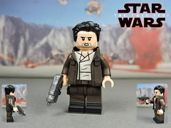 Custom LEGO Star Wars The Last Jedi: Poe Dameron (Will HR) Tags: starwars lego custom thelastjedi