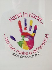 High Five ! (Mr. Happy Face - Peace :)) Tags: art2018 hand health colorful poster unknown publicdomain