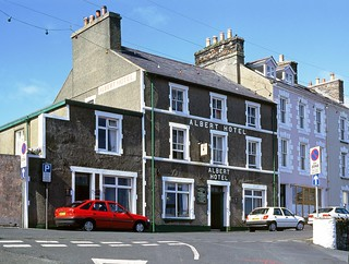 Albert Hotel, Port St. Mary, Isle of Man, April 1999