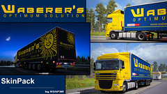 [DOWNLOAD] Waberer's Skin Pack (gripshotz) Tags: download waberers skin pack mod daf xf 105 krone profiliner euro truck simulator ets 2 trailer