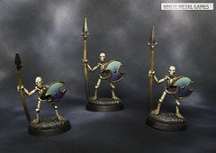 77001: Skeletal Spearmen (whitemetalgames.com) Tags: gold level kenanofcarndinas bowdrune knútrofvíkin skipariofhrafnenonfoot knutr vikin bow drune mierce miniatures darklands 77001 20002 77146 skeletal archers spearmen archer spear men mummy warrior warriors reaper reaperminis reaperminiatures pathfinder dnd dd dungeons dragons dungeonsanddragons 35 5e whitemetalgames wmg white metal games painting painted paint commission commissions service services svc raleigh knightdale knight dale northcarolina north carolina nc hobby hobbyist hobbies mini miniature minis tabletop rpg roleplayinggame rng warmongers