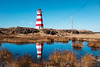off season (Port View) Tags: fujixe3 brierisland novascotia ns canada cans2s 2018 winter western lighthouse light reflection sky blue water rock
