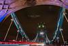Tower Bridge 📷 (David Castro Rodriguez) Tags: nikon nikkor london tower bridge puente azul blue night light noche luces lights cars tokina clouds
