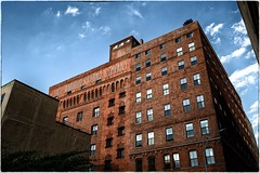 Eagle Warehouse & Storage Company (kareszzz) Tags: eaglewarehousestoragecompany building architecture ny nyc newyork brooklyn us usa travel contrast photowalk industrial