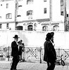 The old Jerusalem (Monica@Boston) Tags: shops building outdoors reading walking israel jerusalem oldtown culture people monochrome blackandwhite city