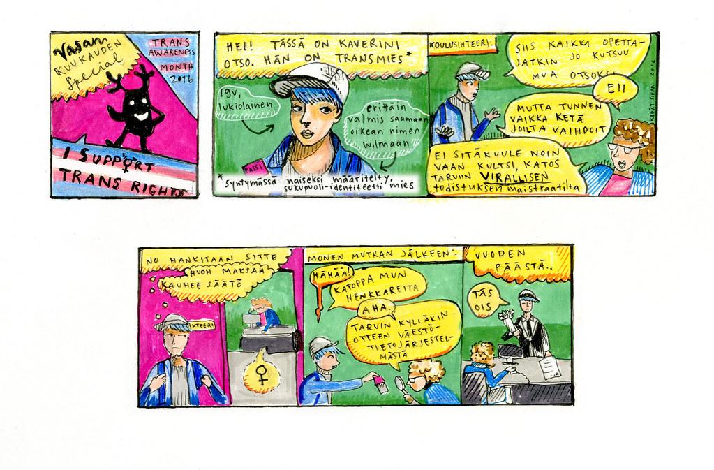 Comics 101 – learning comics in English in Helsink.