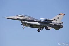 Fokker (GD) F-16AM Fighting Falcon J-882 'AZ' - KLu 313 Sqn RNLAF Volkel (Gary Beale) Tags: fokker gd f16am fighting falcon j882 az klu 313 sqn rnlaf volkel leeuwarden frisian flag