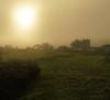 Foggy Countisbury Sunset (EmPhoto.) Tags: countisburychurch devon exmoor uk emmiejgee landscapepassion sonya7rm2 sonyzeiss2470mm fog foggy sunset winter