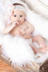 untitled-9511-Edit (Lisa Delores Photography) Tags: baby portrait 3 month old girl