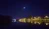 /./ (Kosmi88) Tags: night poland nikon noc spacer walk sky niebo gwiazdy stars woda water odbicie reflection d5300