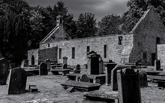 Peters Kirk (Tom McPherson) Tags: reflection river scotland sea sky street summer sun sunset travel tree trees uk urban water work harbour seascape moray tommcpherson elgin photo blackandwhite ngc inexplore mono capture camera professional blackwhite ocean church historical architecture decay