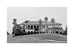The Good Life (BlueisCoool) Tags: flickr foto photo image capture picture photography nikon coolpic l330 bw architecture rich money mansion home house outdoor outdoors outside nature florida blackandwhite luxuryrealestate luxurylifestyle luxuryliving luxuryhome golfcourse golfclub foxhollowgolfclub trinityflorida