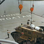 Vietnam War 1965 - Helicopter Loading on Ship thumbnail