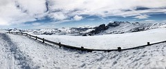 Valgrande-Pajares (Asturias) (coralpin) Tags: photo skyline blue pic beautiful paradise picture shot bluesky sky landscape mountain sport ski snow nieve spain asturias valgrande pajares