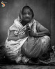 Folded hands (Shikher Singh) Tags: portrait lady woman namaste foldedhands hands holi vrindavan widow saree monochrome blackandwhite determination empathy resolve shikherâsimagery