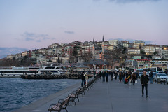 ILCE-7183 (Sepistö) Tags: seaofmarmara mosque pier strait bosporus istanbul turkey sea tr