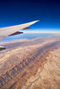 Toblerone (Rajesh Jyothiswaran) Tags: aircraft airport dxb desert dubai emirates gulfofoman light persian rugged uae airline airplane drama dramatic iran mountains range sanddunes sands terrain