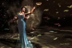 Second Life 18.06.18 Grabbing the sky (Angelo Diabolico) Tags: maitreya ctawa secondlife event swank butterflies magic flowerdreams luminesse firelight
