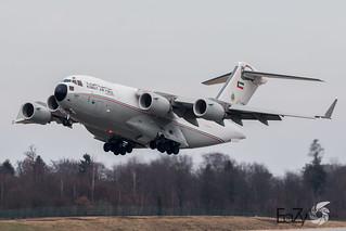 KAF343 Kuwait Air Force Boeing C-17A Globemaster III