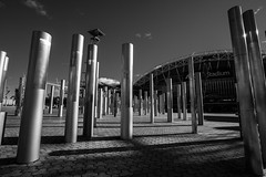DSC00247 (Damir Govorcin Photography) Tags: sydney olympic park anz stadium blackwhite wide angle sony a9 zeiss 1635mm natural light composition shadows
