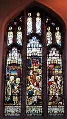Stamford - St John the Baptist Church - Stained Glass (Glass Angel) Tags: heatonbutlerandbayne stamford lincolnshire stjohnthebaptistchurch stainedglass churchesconservationtrust