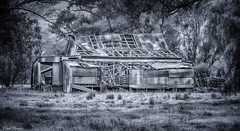 The Shearing Shed_ (Clyde Scorgie Photography) Tags: blackwhite monochrome blackandwhite buildings old australian shearingshed