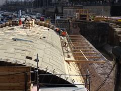 Sanierung der Augustusbrücke, Dresden (Thomas230660) Tags: sony dresden städte citys sightseeing