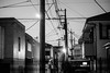 Wires everywhere (uaru.amphiacantoides) Tags: night street cables japan japanese tokyo nakano still quiet mood