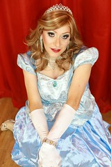 But why can't I be a Disney Princess too? (Paula Chester) Tags: tg tgirl tgurl cd crossdresser disney princess crossdressing ladyboy tranniefun tranny transvestite