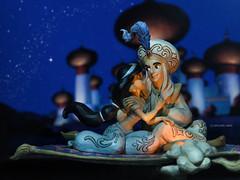 A Whole New World (eifel85, eifel doll dress) Tags: jim shore disney showcase aladdin magic carpet ride disneyland disneycollection disneystore disneyitems disneytoys disneygashapon figures repair