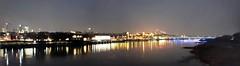 Panoramica Varsovia (ergos35) Tags: varsovia vistula puente luces polonia europa panoramica panorama