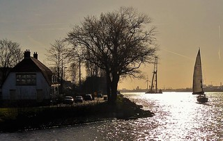 Sailing Silver Waters
