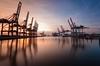 Burchardkai (Joachim Behnke) Tags: hamburg hamburghafencontainer hafen container schiff nachtaufnahme nacht harbor ship nikon nikond7500 sigma1020mm sigma