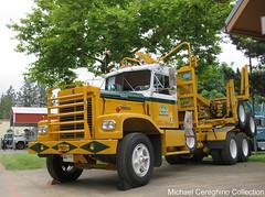 Malloch & Moseley Logging Co.'s 1972 Kenworth LW-924 Log Truck (Michael Cereghino (Avsfan118)) Tags: 2016 aths trucking show convention national american historical truck society 1972 kw kenworth logging malloch moseley co ltd lw924 lw 924 company salem or oregon