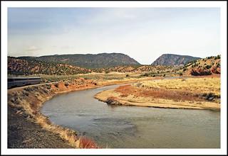 Along the Colorado River on the California Zephyr