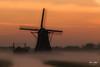 Sunrise Aarlanderveen 13 (M van Oosterhout) Tags: sunrise sun zonsopkomst nederland netherlands holland dutch alphen aan den rijn aarlanderveen windmill molen