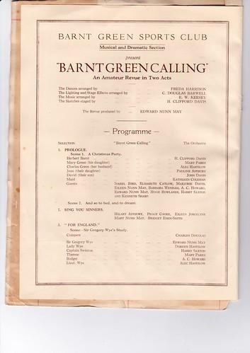 1931: Jan Programme 2