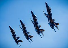 Blue Angels '09 (R24KBerg Photos) Tags: blueangels navalaviators canon airshow airplanes airplane plane fighter fa18hornet military navy flight flightdemonstrationteam seymourjohnsonafb