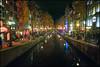 P1020739-2 (pettak) Tags: bridge holland netherlands amsterdam night redlight