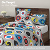 On Target by Alex Morgan (Spellstone) Tags: target sport archery gold yellow red blue black white archer archers shooting arrows eye eyes spellstone spoonflower roostery art craft design surface pattern society6 alexmorgan pillow cushion phonecase textile fabric wallpaper totebag tote clock wallclock mug rug pouch laptopskin clothing apparel sewing curtains