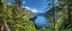 Königssee Panorama (FOXTROT|ROMEO) Tags: rabendwand königssee kingslake berchtesgaden bayern bavaria see lake blue sky water green nature travel wander wanderlust pano panorama osmo dji