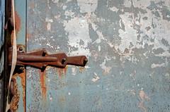 hinge (fallsroad) Tags: tulsaoklahoma truck van pagemoving old rusted decay door hinge rusty rust