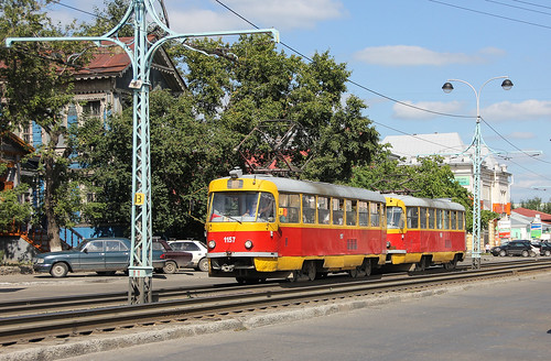 Tatra T3SU 1157 and 1109