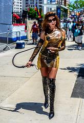 MermaidParade2018-3(NY) (bigbuddy1988) Tags: people portrait photography street urban art new digital city nikon d800 costume woman brooklyn newyork coneyisland mermaidparade boots festival latex whip