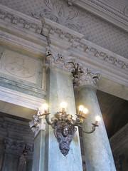 Royal Palace of Stockholm (Christine G. H. Franck) Tags: royalpalaceofstockholm kungligaslottet nicodemustessintheyounger carlhårleman sweden stockholm stairhall corinthianorder lighting