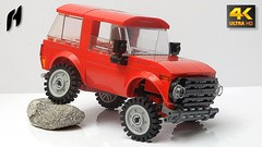 Lego Лада Нива (MOC - 4K) (hajdekr) Tags: lego buildingblocks tip help tips stepbystep inspiration design moc myowncreation toy model buildingbricks bricks brick builder buildingtoy lada niva russian terrain offroad 4x4 offroader classic ладанива лада нива lada4x4 crossover suv suspension venicle car automobile mobile transport springwheelsholder spring wheels holder 2484c01 mudguard mud super bushman sport vaz 2121 hatchback fora