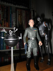 Grand Moff Tarkin with Death Star Droids Star Wars 4054 (Brechtbug) Tags: peter cushing grand moff tarkin with death star droid k2so or kaytuesso interrogation wars action figure toy toys villain villains 1964 1960s 60s 1977 1970s 70s movie film science fiction scifi spy adventure hot forbidden planet comics store nyc 2018 comicbook rogue one a new hope