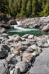 Kennedy River Falls & Rapids (MIKOFOX ⌘ Thanks 4 Your Faves!) Tags: canada river britishcolumbia falls xt2 water rcks vancouverisland learnfromexif july forest landscape provia boulders rapids fujifilmxt2 mikofox showyourexif summer xf18135mmf3556rlmoiswr